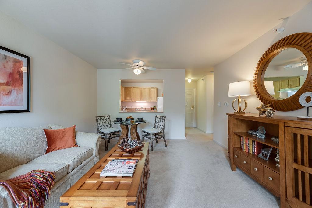 Elmhaven Manor apartment living space