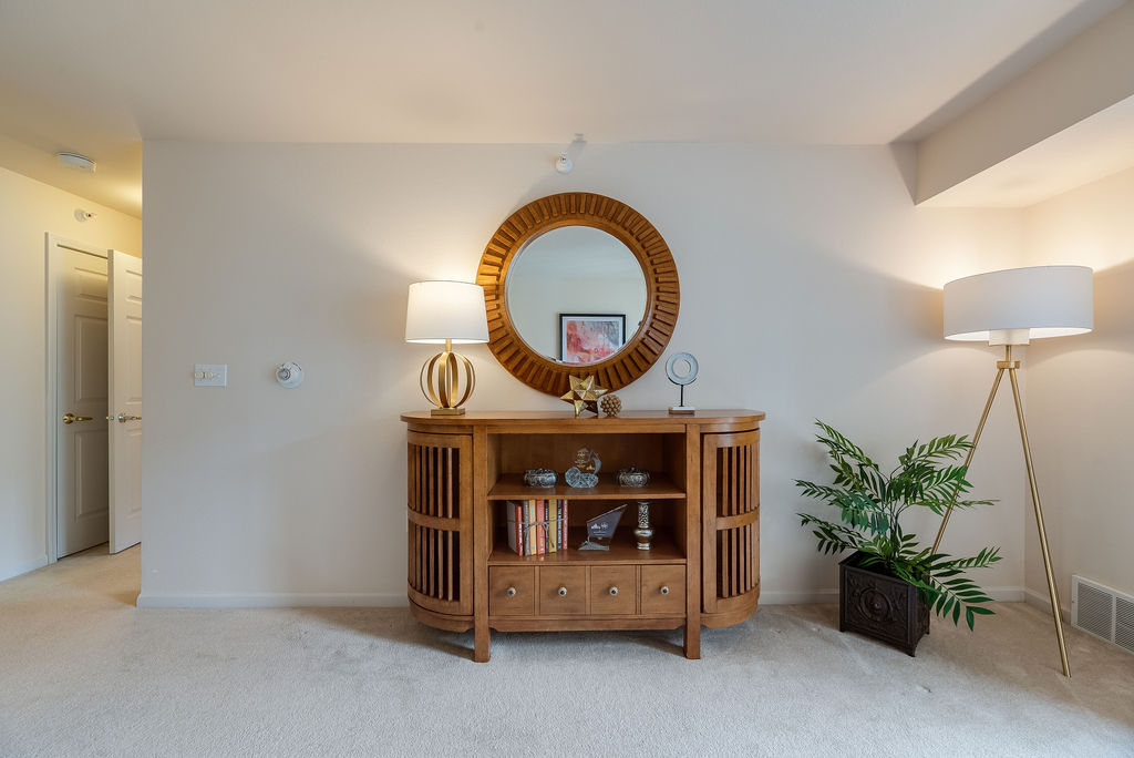 Interior living space at Elmhaven Manor