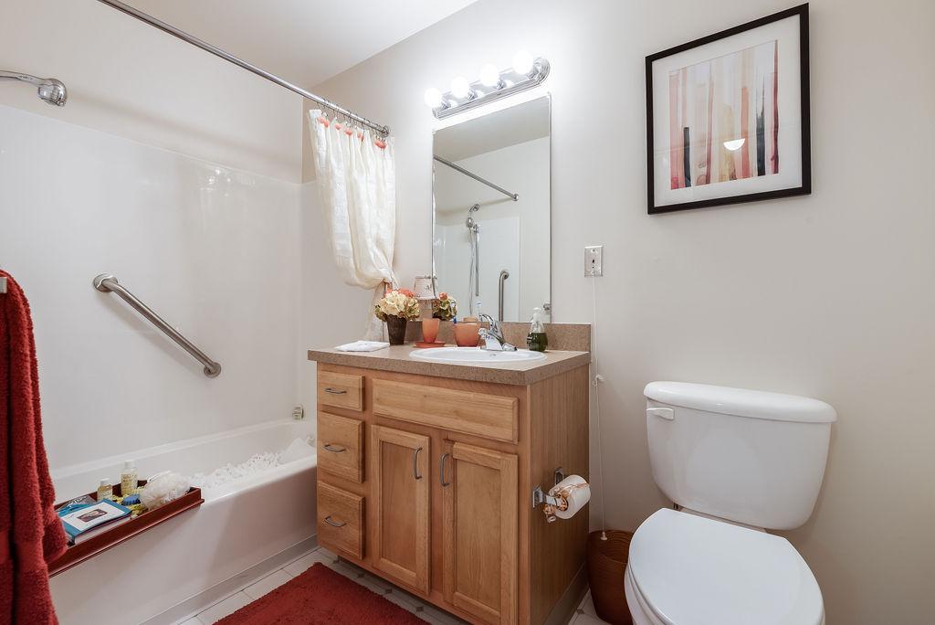 Elmhaven Manor bathroom interior