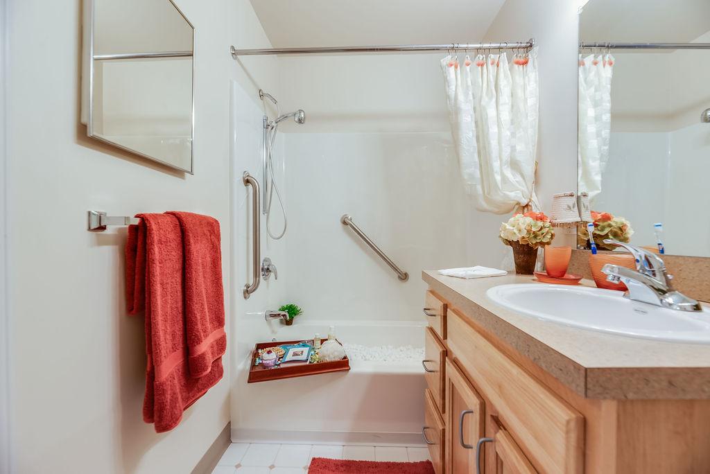 Elmhaven Manor bathroom