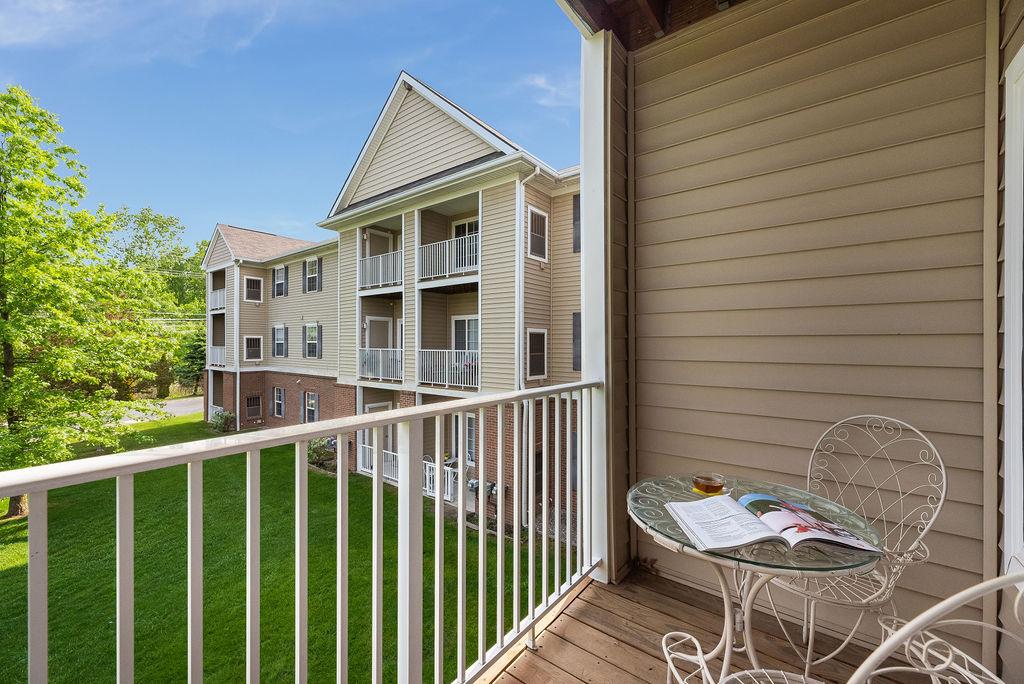 Balcony on Elmhaven Manor apartment